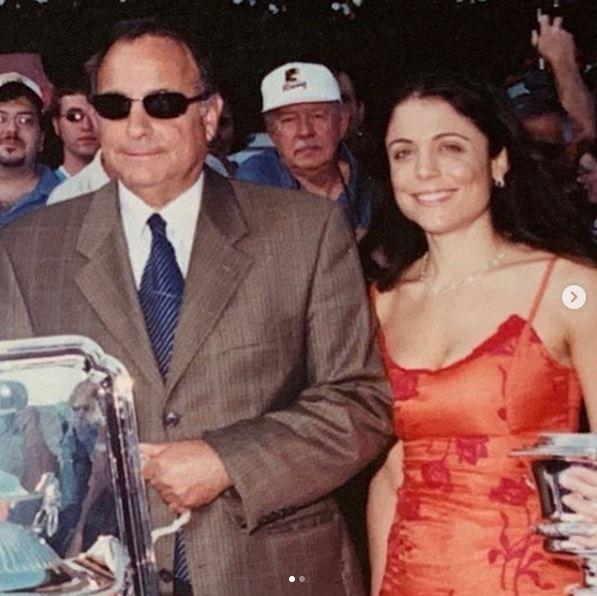 Robert J. Frankel with his daughter, Bethenny Frankel.