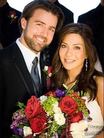 Rain India Lexton's parents, Marisol Nichols and Taron Lexton's wedding.