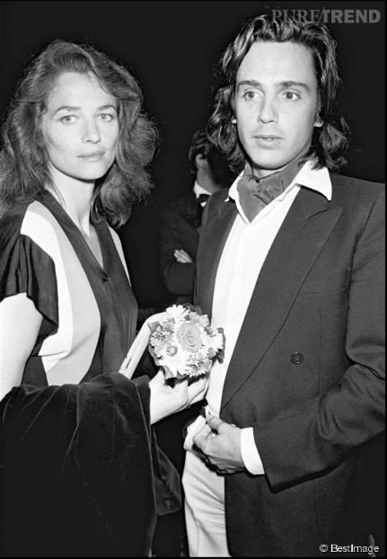 Jean-Michel Jarre and his second wife, Flore Guillard.