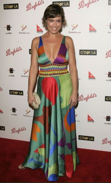 Kimberley Joseph arrived at the Penfolds Icon Gala presented by G'Day La: Australia Week 2006 at the Palladium in Los Angeles, California, on 14th January 2006.