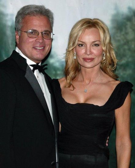 Kylie Travis with her husband, Louis R. Cappelli.