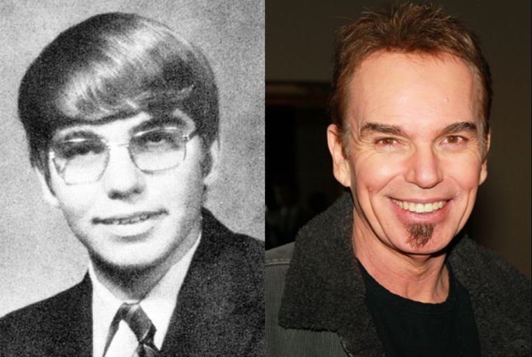 Photo of Billy Bob Thornton then & now.