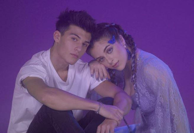 Baby Ariel and her boyfriend, Daniel Skye.