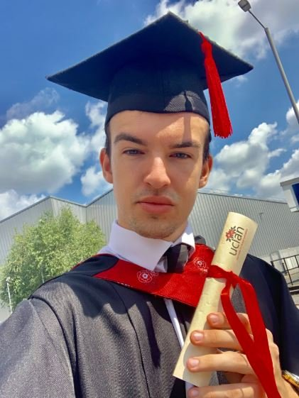 Graduation 2019: Cometan graduated with a 1st class degree in Business and Marketing topped off with getting a university prize for the Best Project!