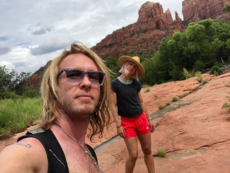 Kenny Wayne Shepherd enjoying his vacation with his beautiful wife.
