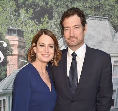 Gillian Flynn and her Gillian Flynn and her husband, Brett Nolan arrived in HBO's Sharp Objects Los Angeles premiere at ArcLight Cinerama Dome on 26th June 2018, in Hollywood, California.husband, Brett Nolan arrived in HBO's Sharp Objects Los Angeles premiere at ArcLight Cinerama Dome on 26th June 2018, in Hollywood, California.