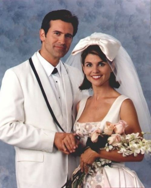Mossimo Giannulli and his wife, Lori Loughlin's wedding ceremony.
