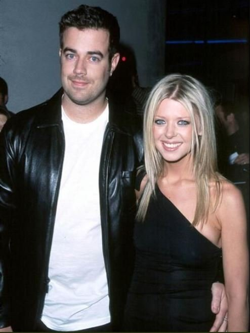 Tara Reid with her ex-boyfriend, Carson Daly before their separation.