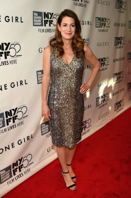 "Gillian Flynn attended the Opening Night Gala Presentation and World Premiere of ""Gone Girl"" during the 52nd New York Film Festival at Alice Tully Hall on 26th September 2014, in New York City."