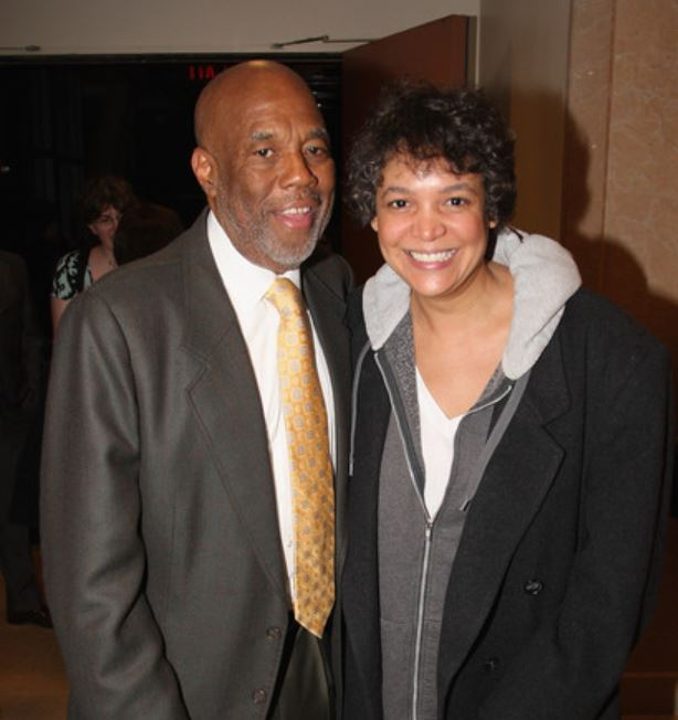 Erinn Chalene Cosby and Howard Bingham attended the Our Time Theatre Company honoring of Howard Bingham at the Jack H. Skirball Center for the Performing Arts on 13th April 2009, in New York City.