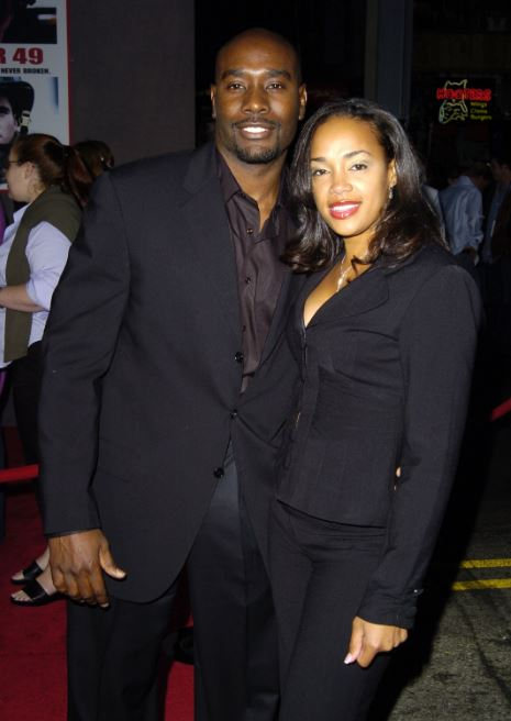 Photo of Grant Chestnut's parents, Morris Chestnut and Pam Byse.