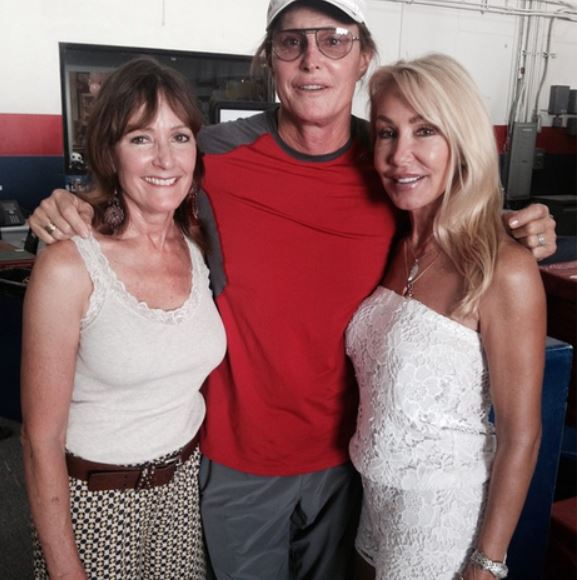 Chrystie Jenner with her ex-spouse, Caitlyn and her daughter Cassandra Marino.