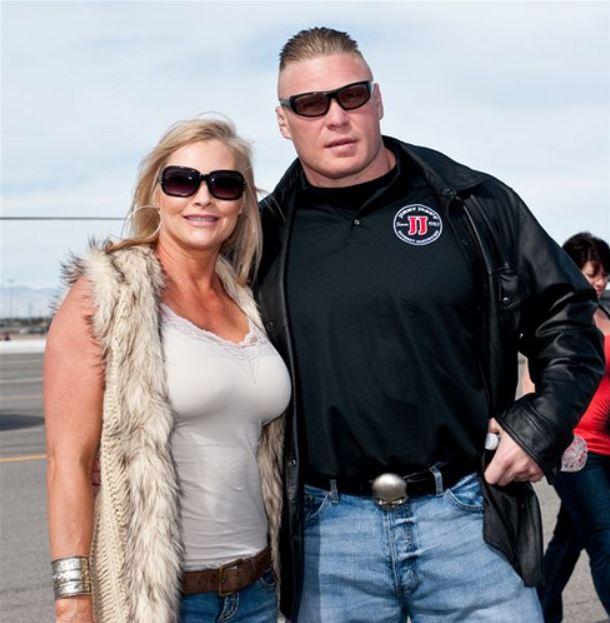 Duke Lesnar's parents together.