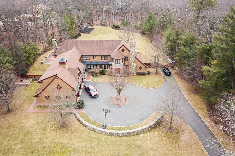 David Ortiz's house located in Weston Massachusetts.