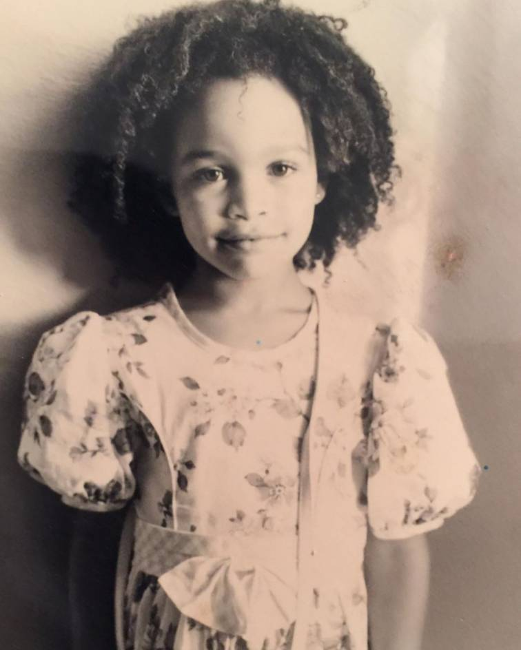 Childhood photo of Cleopatra Coleman.