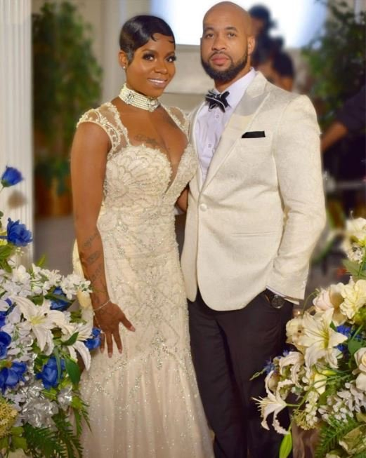 Barrino's mother, Fantasia Barrino and Kendall Taylor's wedding.