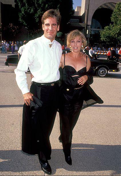 Krista Neumann with her husband, Scott Bakula.
