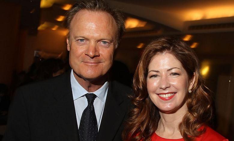 Elizabeth Buckley Harrold O'Donnell's parents together.
