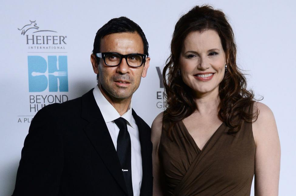Reza and Geena