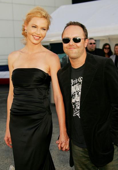 Lars Ulrich with her ex boyfriend Lars Ulrich