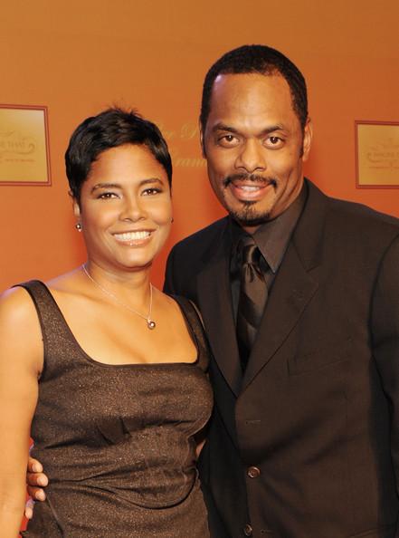 Angela Burt-Murray along with her husband