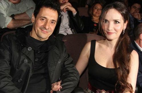 Ricardo Mollo and his wife natalia oreiro