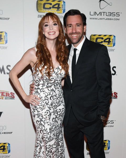 Lisa Foiles with her husband Shawn Cloninger