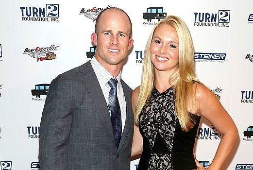 Jessica and her husband, Brett Gardner