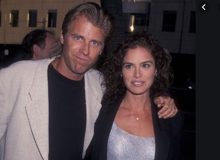 Vincent Van Patten with his ex wife