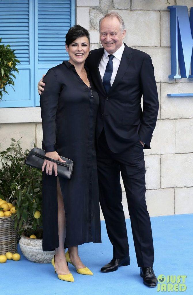 Megan with his husband, Stellan
