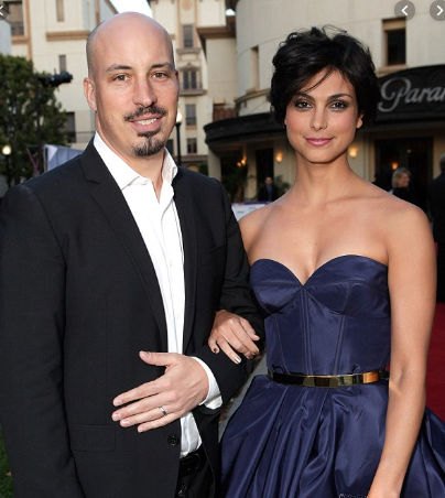 Austin Chick wioth his ex-wife Morena Baccarin