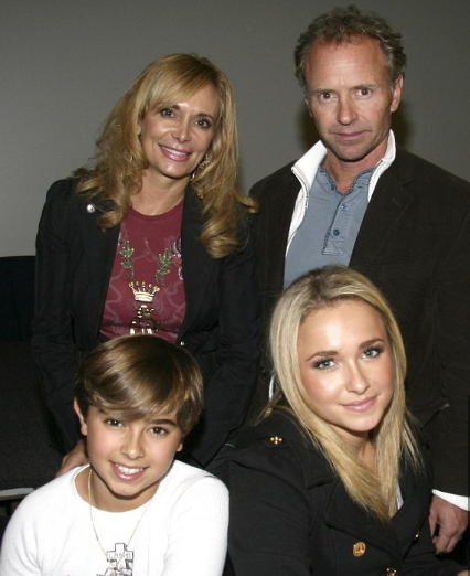skip panettiere with his family member