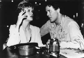 Nancy with her ex-husband, Wings Hauser