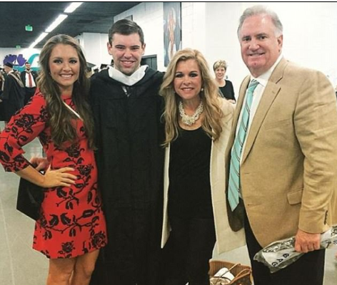 Tuohy Smith with her family member