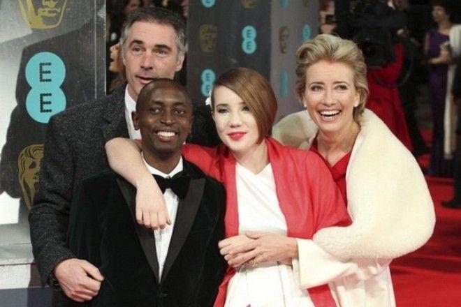 Tindyebwa Agaba Wise with Emma and Gerg