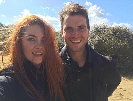 Alexandra Evans and her secret boyfriend