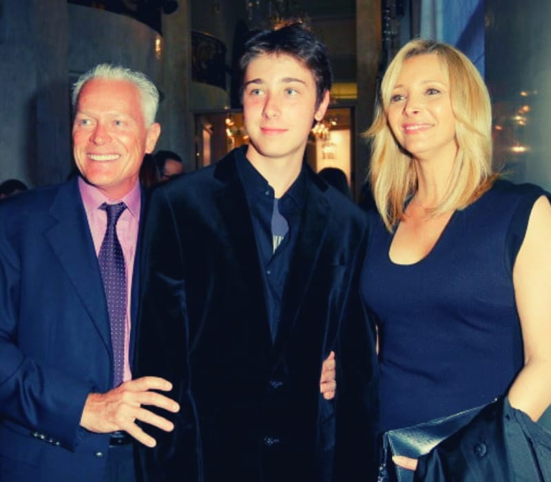 Julian Stern with her family member