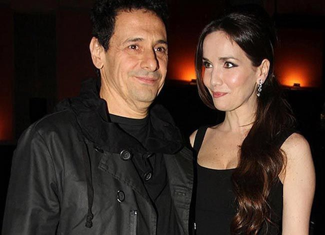 Ricardo Mollo with his wife Natalia Oreiro