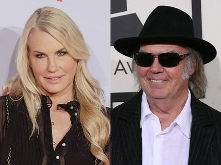 Neil Young and his spouse Daryl Hannah