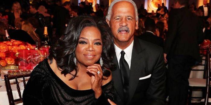 Stedman Graham with his partner Oprah Winfrey