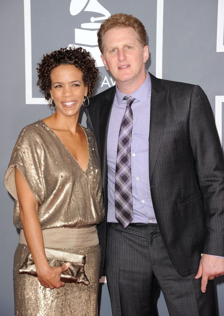 Michael Rapaport and his wife