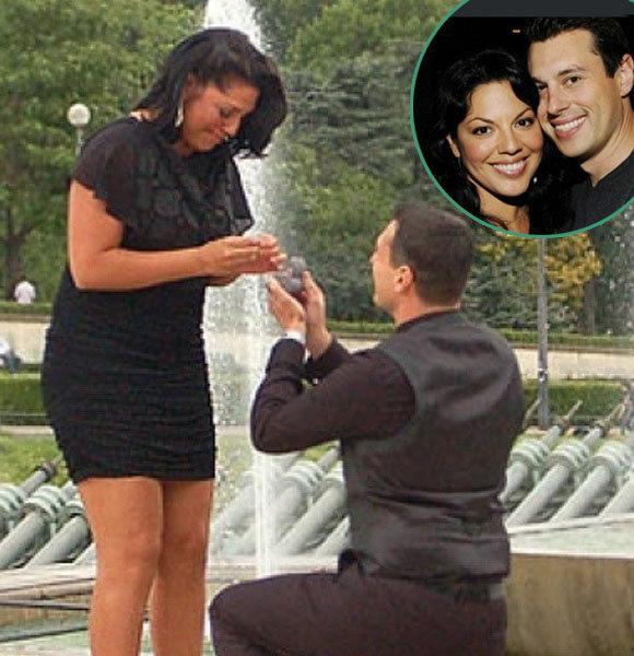 Ryan proposing Sara