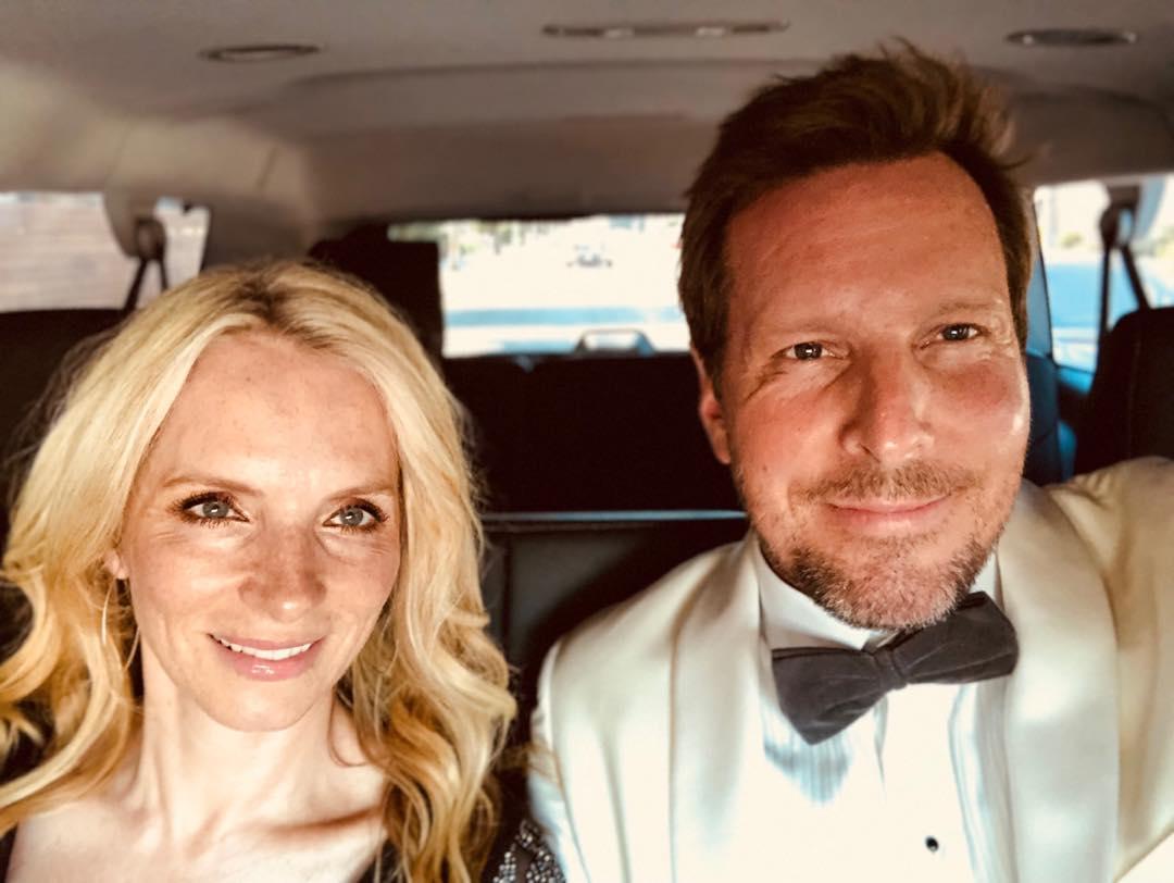 Tamara Marie Watson with her husband