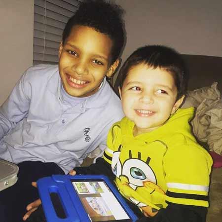 Tehmeena Afzal's children, son Jaiden Blake and Aiden Blaise,