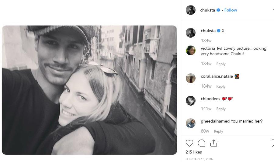 Chuku Modu with a girl