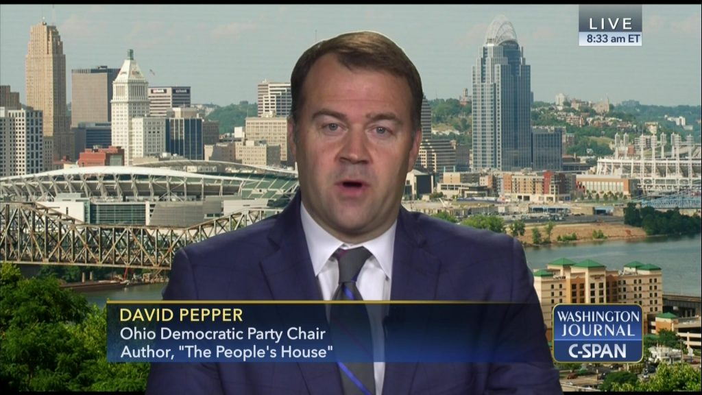 David Pepper on Television