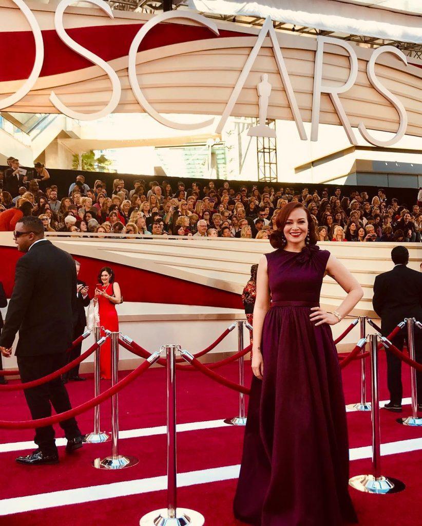 Alicia on Red Carpet