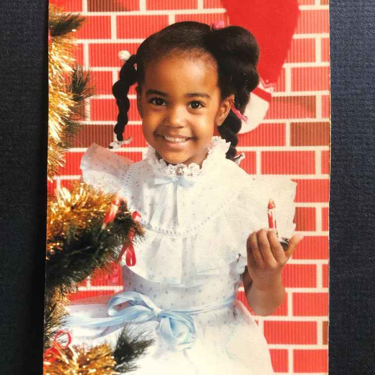 Childhood photo of Jerrika Delayne Hinton.
