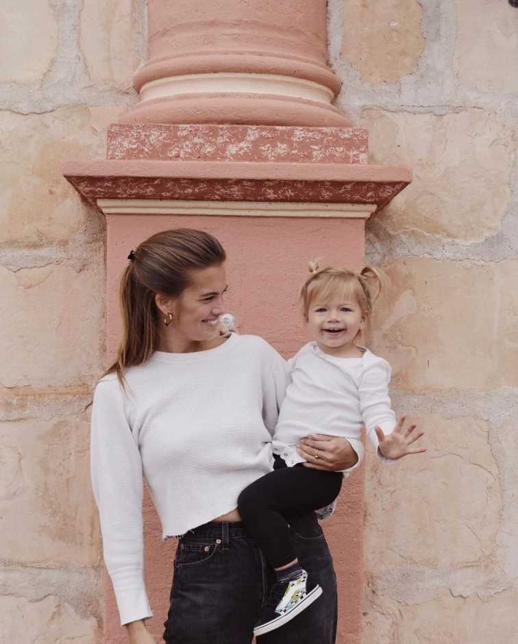 Stormy Henley spending a lovely time with her daughter, Gravity Blue Smith.