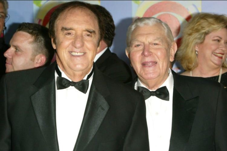 Jim Nabors with his spouse, Stanley Don Cadwallader.
